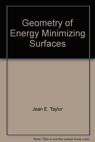 Geometry of Energy Minimizing Surfaces