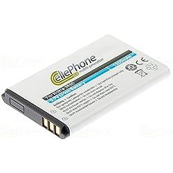 cellePhone Batterie Li-ION Compatible avec Philips Babyfon Babyphone Avent SCD600 (Remplacement pour 1ICP06/35/54)