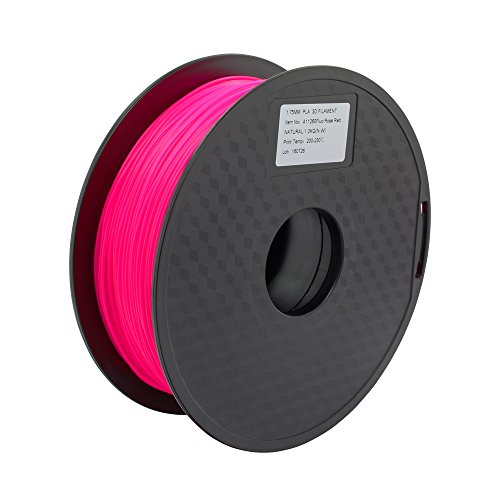 Chemical Resistant 3D Printing Filament Natural High Heat Deflection Essentium PEEK High Temp Exotic Filament 2.85 mm- Extremely Strong Shockingly Heat Resistant 500 Grams