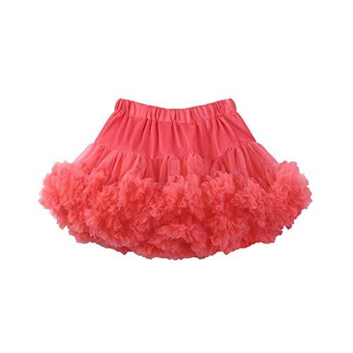 Rock Minirock Petticoat Tanzkleid Dehnbaren Mini Skater Tutu Rock Erwachsene Ballettrock Tüllrock für Party Halloween Kostüme Tanzen(A,70) ()