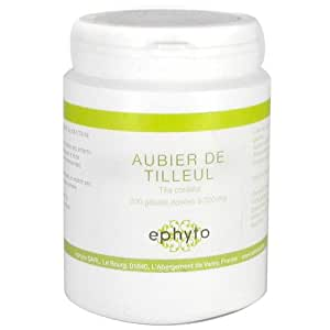 Ephyto - Aubier de tilleul - 200 gélules - Draineur du foie et de la vésicule