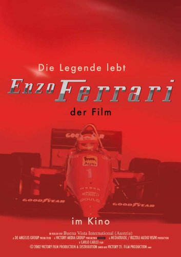Ferrari Plakat Movie Poster (27 x 40 Inches - 69cm x 102cm) (2003) German B (Sammlerstücke Ferrari)