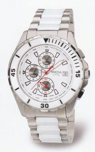 Boccia Titanium Uhr Chrono 3766-03