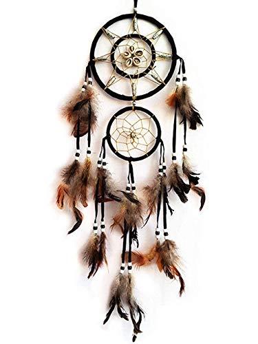 Traumfänger handgemacht mit Feder Wandbehang Hauptdekorationen Traumfänger mit Federn Wandbehang Decora