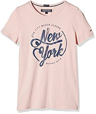 Tommy Hilfiger Girl's Cn Knit S/s T-Shirt