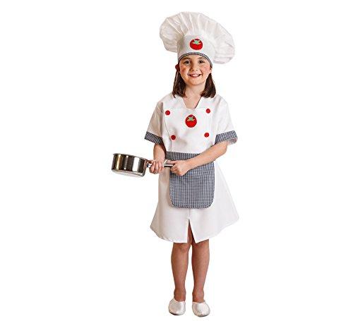 Disfraz de Cocinera tomates para niña