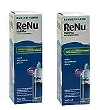 Bausch & Lomb ReNu MULTIPLUS Fresh Lens Comfort Pflegemittel für weiche Kontaktlinsen 2 x 360ml