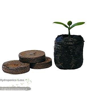 Jiffy 7 Peat Plugs Hydroponics Propagation Pellets 38mm - Quantity's up to 1000 (500)