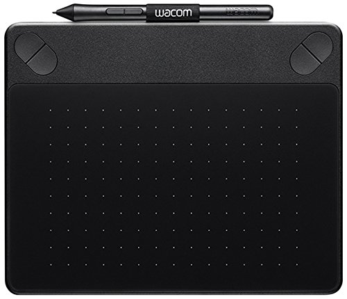 Wacom Intuos Photo Stifttablett Größe S / Grafiktablett inkl. Macphun Creative Kit-, Corel PaintShop Pro- & Corel AfterShot Pro Software-Download & Wacom Intuos Pen / Kompatibel mit Windows & Apple