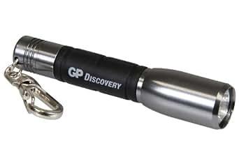 GP Discovery 450011 LCE202C Argent Torches LED Créé + 1 Piles LR03 Ultra Argenté