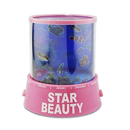 aussel-LED-Star-Master-Lampe-de-projecteur-latrale-de-lit-Lampe-relaxation-Humour-Lumire-et-cadeau-de-Nol