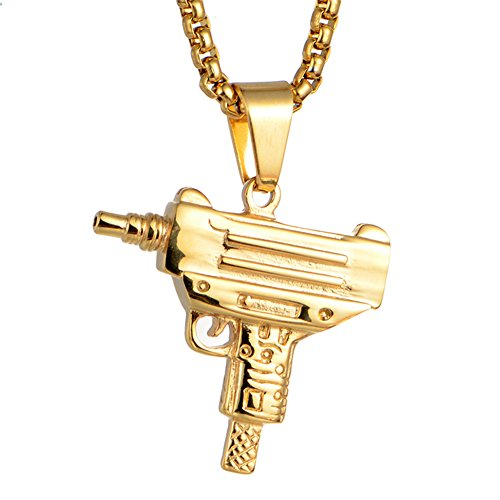 LiFashion LF Herren Edelstahl Sniper Armee Pistole Gewehr -