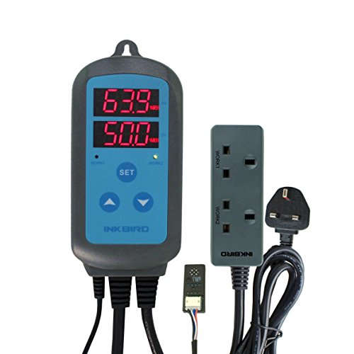 Inkbird 220V controlador de humedad higrostato regulador para mascota, Reptiles, Acuario, humidificadores...