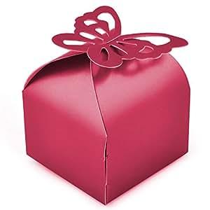TRIXES 50 scatole regalo per matrimoni, decorazione per tavolo,regali, feste, ricevimento delle nozze