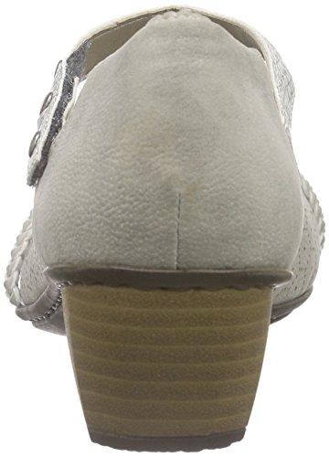 Rieker - 41777, Scarpe con Tacco Donna Grigio (Grey/ice/ice / 41)