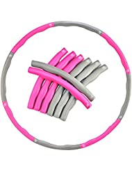 EVER RICH ® FitnessWave Weighted 1.2kgs Fitness Exercise Hula Hoop