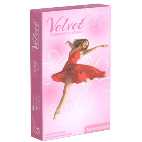 *Velvet Condoms for Women – 3 Frauenkondome*
