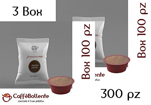 Lollo Caffè - Classico espresso - Capsule Lavazza A Modo Mio - 300 pz (3x100 pz)