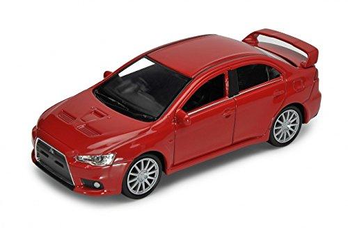mitsubishi-lancer-evolution-evo-x-limousine-rot-ab-2009-ca-1-43-1-36-1-46-welly-modell-auto