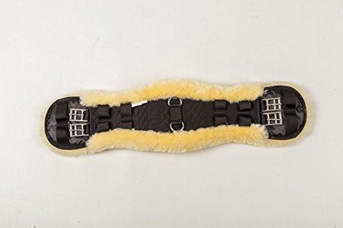 Merauno Dressage Girth-Lammfell Sattelgurt Dressur (60cm)