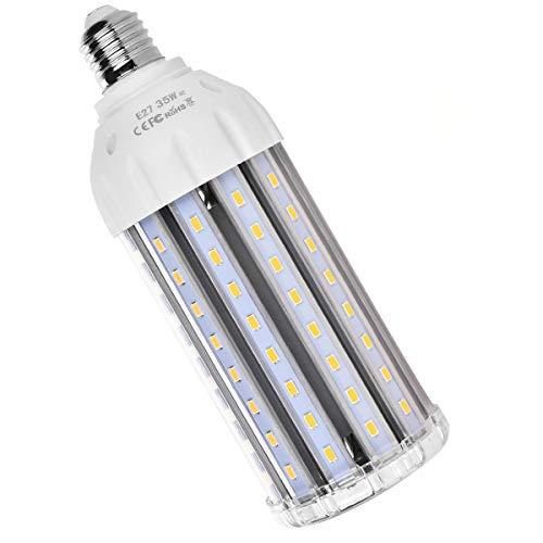 E27 35W Ampoule LED Lampe Maïs 3500 Lumen Équivalent 200W Lampe Incandescent 116 x SMD5730 Angle de Faisceau 360°Eclairage Blanc Chaud 2700K–3200K pour Salon, Salle à Manger, l'Extérieur