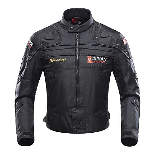 BORLENI Giacca Motocicletta, giubbotto moto uomo estiva 5 Armatura protettiva per uomo Donna, protezioni abbigliamento moto