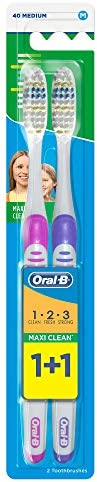 Oral B Pearl Toothbrush, Set Of 2, Assorted Color