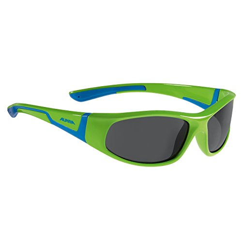 ALPINA Erwachsene Ma.ROI Skihelm, neon-Green-Blue, One Size