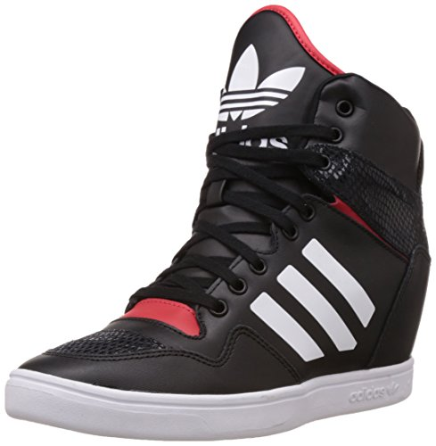 Adidas b35323 Originals Women S M Attitude Up Black White And Red Leather  Sneakers 6 Uk- Price in India 9111ff240