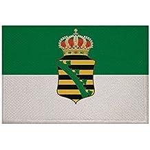 UB Aufn/äher Dresden Flagge Fahne Aufb/ügler Patch 9 cm x 6 cm Neuware!!!