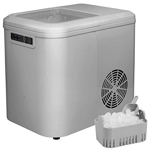 Eiswürfelmaschine Eiswürfelbereiter Eiswürfel Ice Maker Zubereiter 2,2L EM01gr
