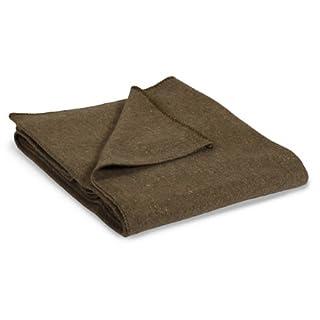 StanSport 4011168-SSI Wool Blend Blanket - Green - multi, N/A