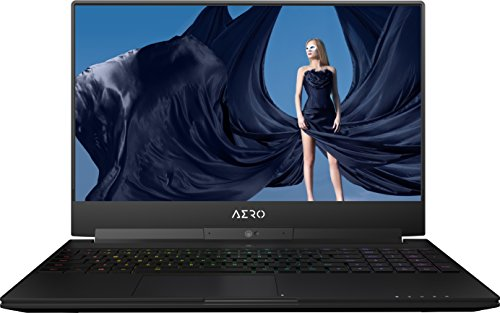 "GIGABYTE AERO 15X - 15.6"" UHD/4K Notebook - (Black) (Intel Core i7-8750H, 16 GB RAM, 512 GB SSD, 8 GB NVIDIA GeForce GTX 1070 Graphics, Windows 10 PRO"