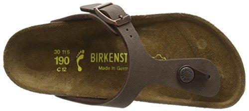 Birkenstock Gizeh, Unisex-Kinder Offen Sandalen, Braun (Mocha), 32 EU -