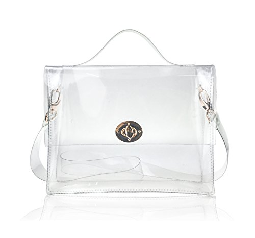 hoxis-summer-beach-candy-clear-pvc-turn-lock-satchel-cross-body-transparent-messenger-bag