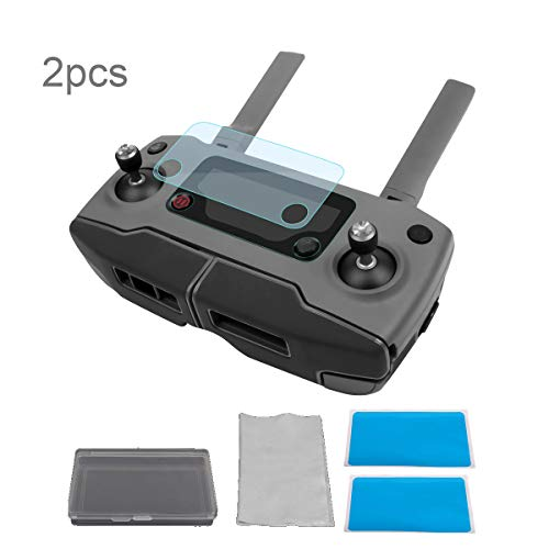 Flycoo Displayschutzfolie für DJI Mavic 2 Pro/Zoom Drohne Fernbedienung, Kratzfest, volle Abdeckung, 2 Stück