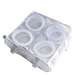 Wäschesäcke aus Netzstoff, wiederverwendbar, für Schuhe, Schuhe, Hausschuhe, Organizer, Wäschebeutel und Trockentaschen