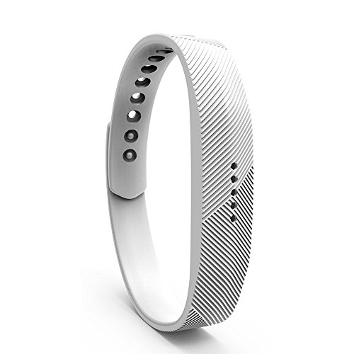 Cyeeson Fitbit Flex 2 Armband Weiche Silikon Adustable Armband Strap Replacement Watch Band für Fitbit Flex 2 (Klein)
