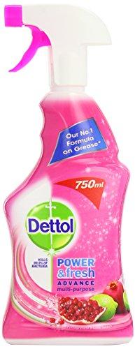 Dettol potenza e spray 750ml (confezione da 3)