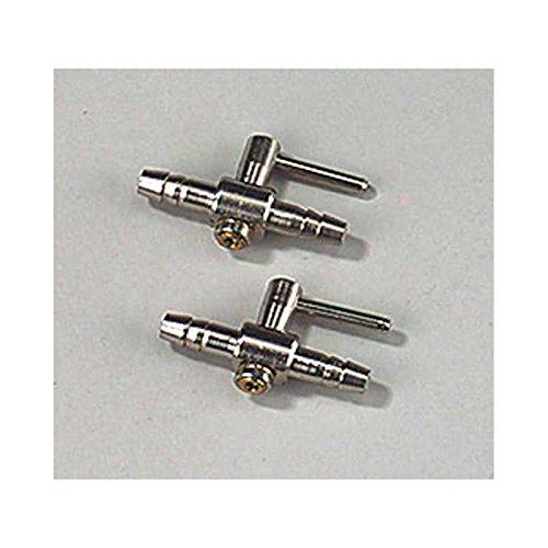 EBI 224-103364 Absperrhahn für Luftschlauch aus Metall, 2 Stück -