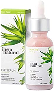 Eye Serum for Dark Circles & Puffiness - Reduces Bags, Wrinkles, Fine Lines, Sagging Skin & Puffy Eyes