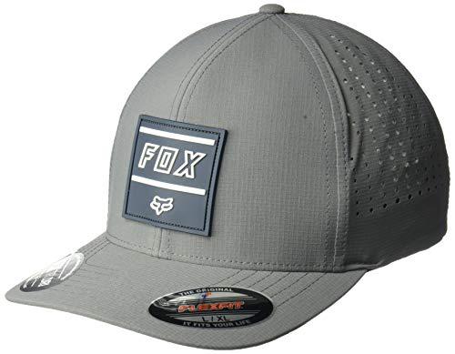 Fox Herren Midway Flexfit HAT Baseball Cap, dunkelgrau, X-Large -