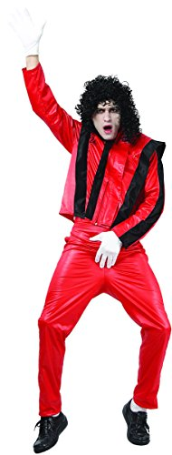 Déguisement de Michael Jackson dans Thriller Taille M