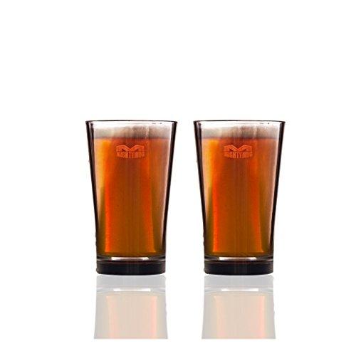 Mighty Mug Pint-Glas–2Stück–Bierglas