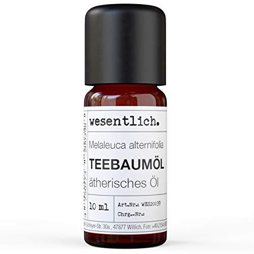 Teebaumoel - reines ätherisches Öl von wesentlich. - 100% naturrein aus der Glasflasche (10ml)