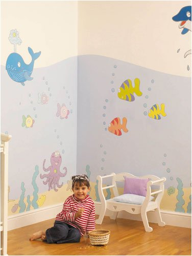 Undersea Adventure Room Makeover Kit - Giant Wall Stickers
