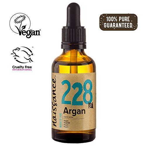 Kopfhaut Sahne (Naissance marokkanisches Arganöl (Nr. 228) 50ml - rein & natürlich - Pflegeöl für Gesicht, Haut, Haar, Bart & Nagelhaut - Glasflasche mit Pipette)