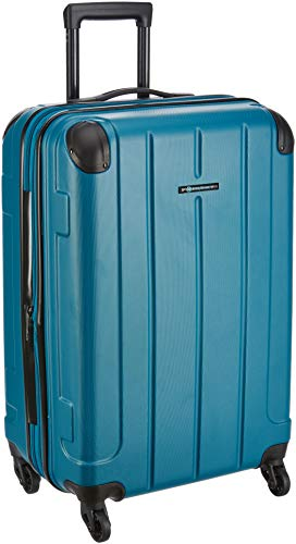 Teakwood ABS 28 cms Petrol Hardsided Check-in Luggage (TR_ABS_14_Petrol_M)