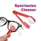 #9: MagnusDeal® Multi-functional Microfiber Glasses Eyeglasses Brush Cleaner Cleaning Clip