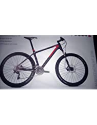 Focus Raven 27R 5.0 30 Gang-Kette Herren MTB 27,5 Zoll 2014 44 cm grey/red-matt